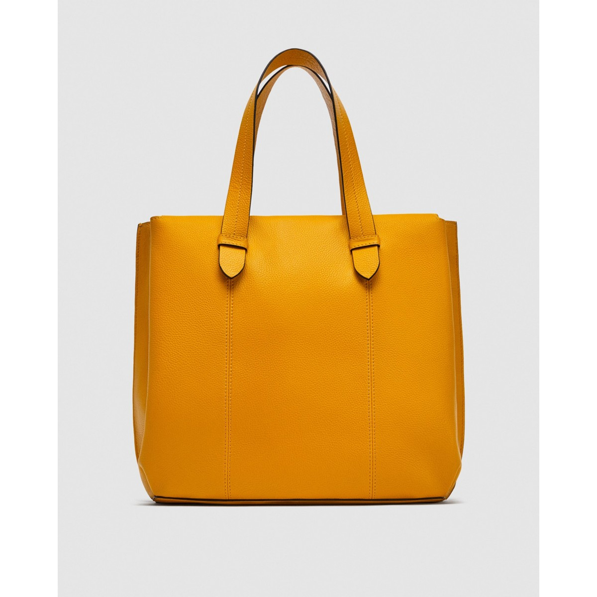 Zara Leather Tote