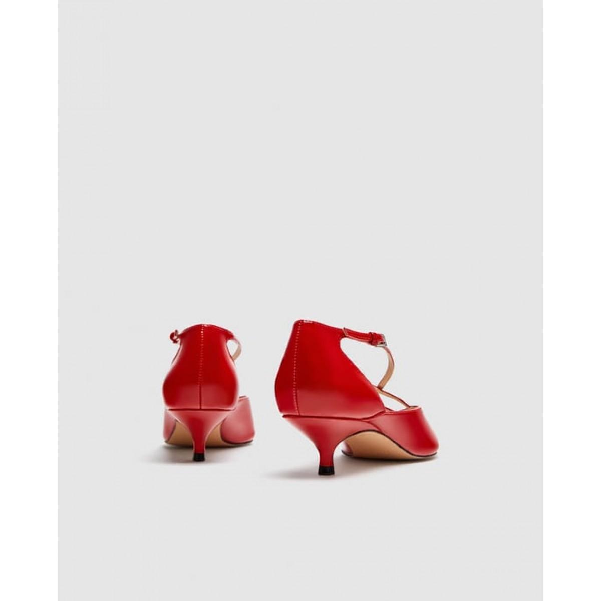 Zara Medium Heel Shoes