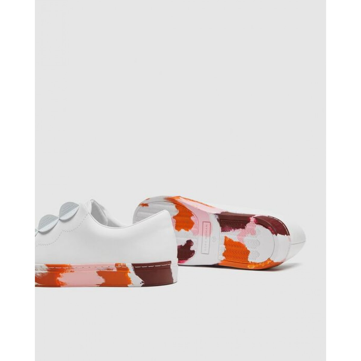 Zara Coloured Sole Sneakers