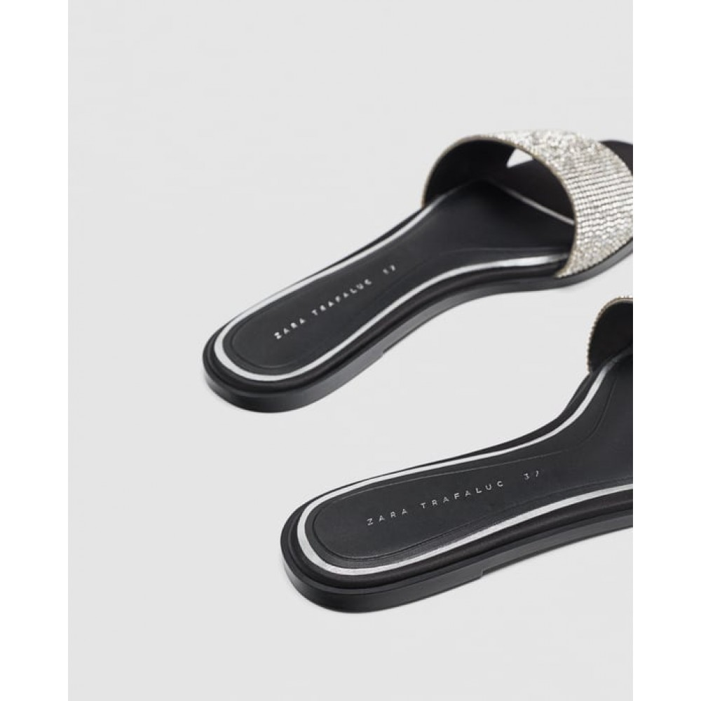 Zara Shiny Slides