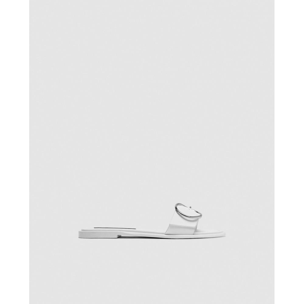 Zara Buckled Sandal