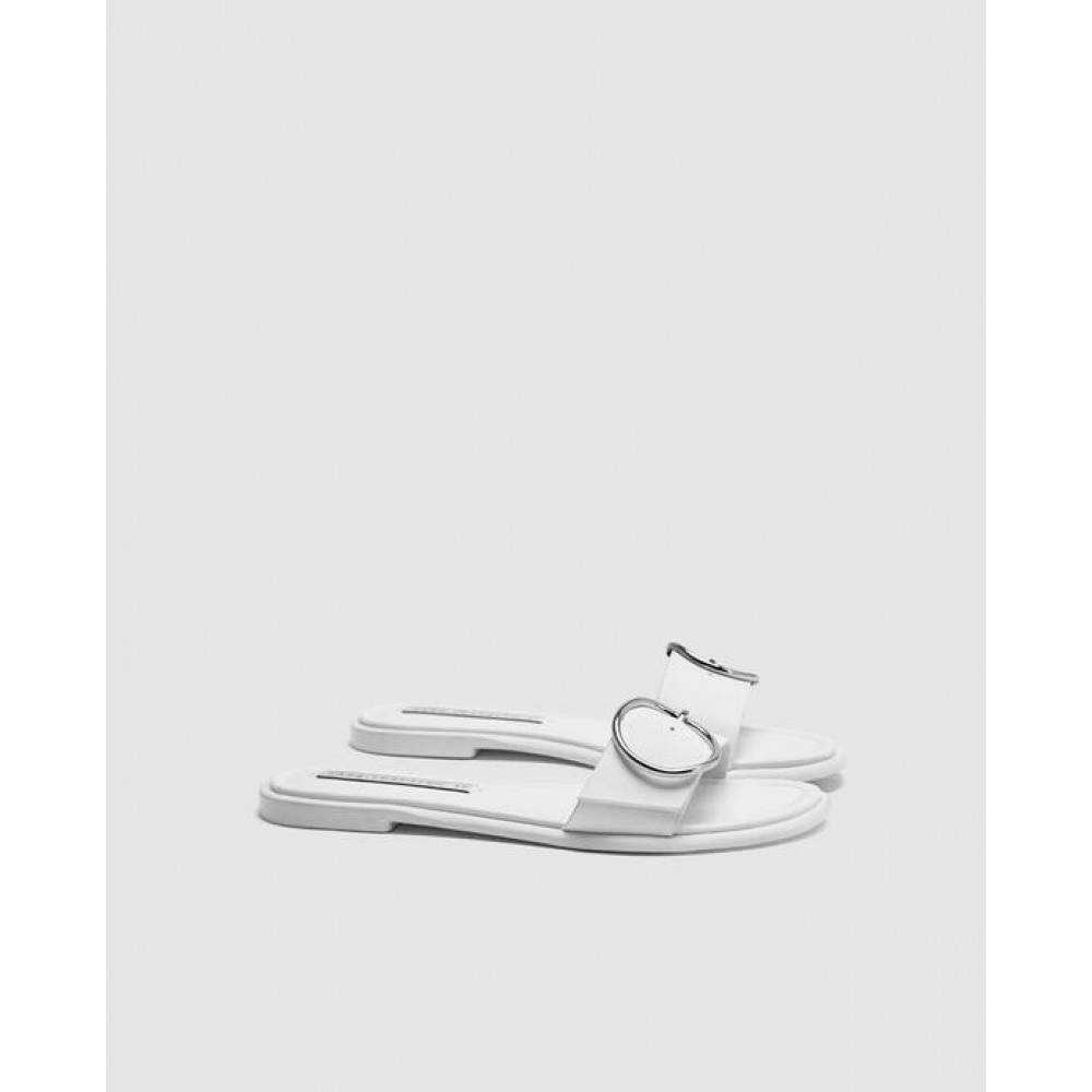 Zara Buckled Sandal