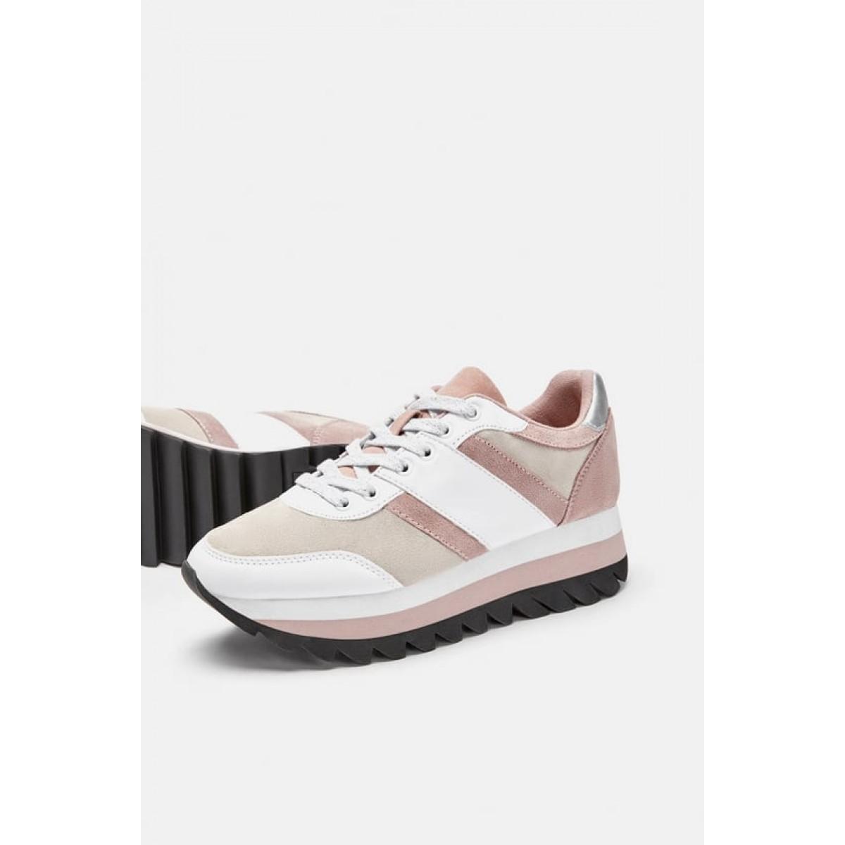 Zara Contrasting Sneakers