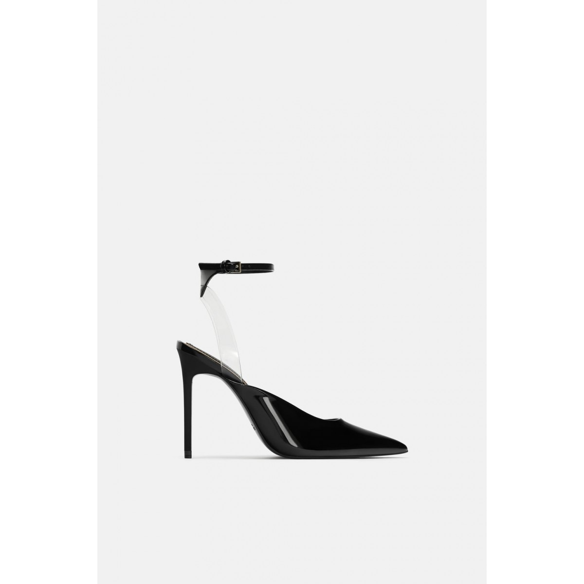 Zara Vinyl High Heel Shoes